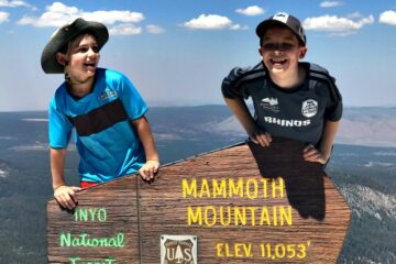mammoth lakes family activities for summertime