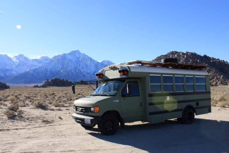 Stu The Bus at Alabama Hills