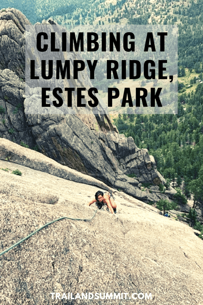 Rock Climbing at Lumpy Ridge – Estes Park Valley
