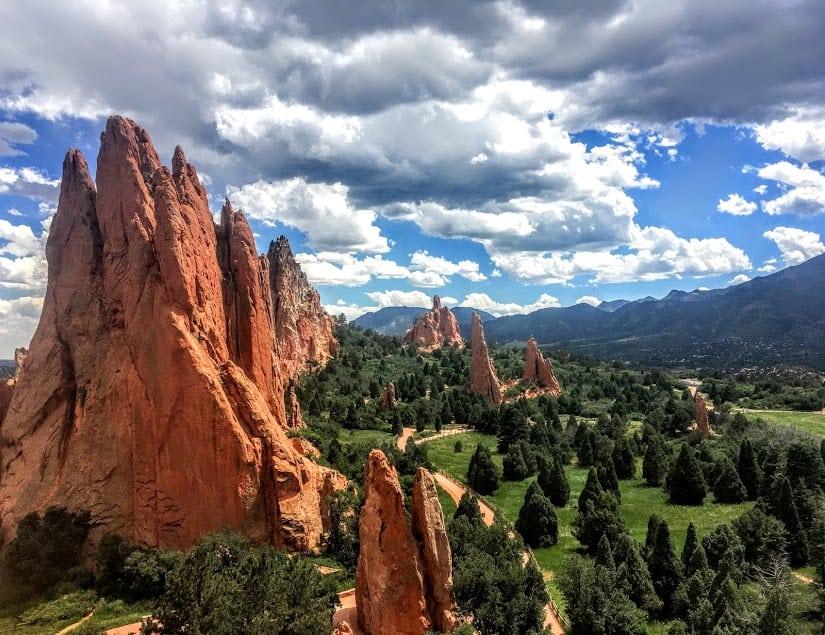 rock climbing garden of the gods