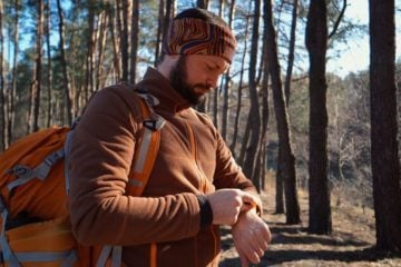 do gps watches work in the woods