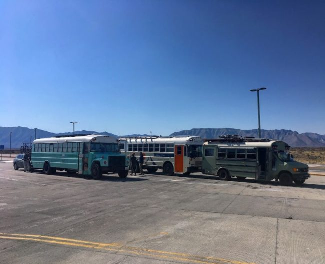 School Bus Interior Height