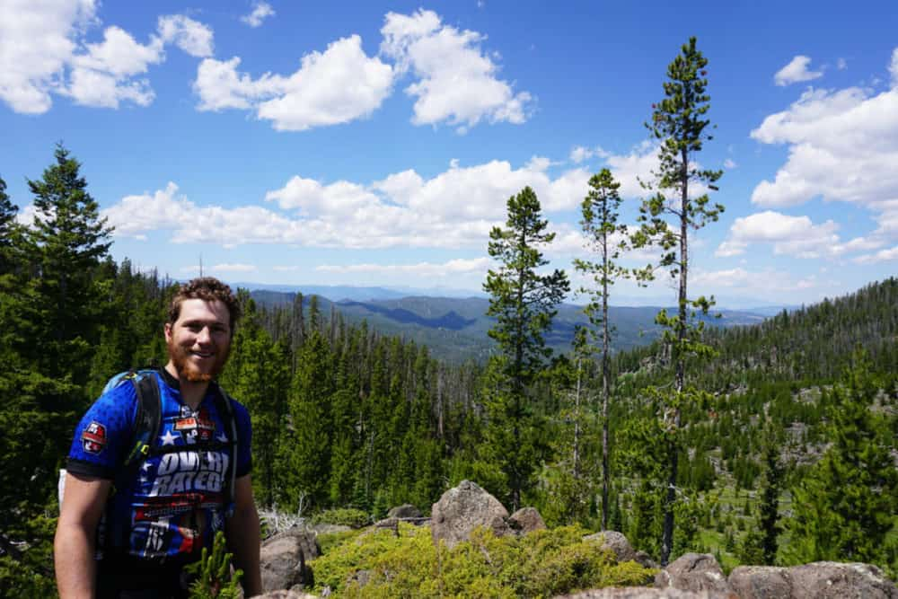 bikepacking the butte batholith route in montana