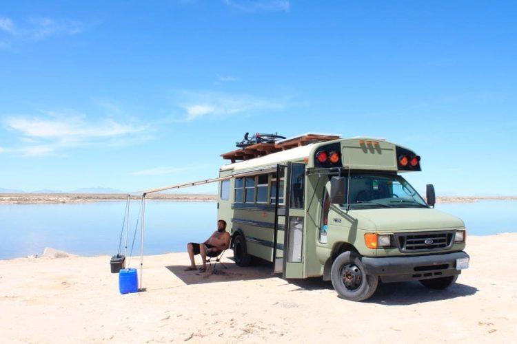 Where Do You Park Your School Bus Conversion