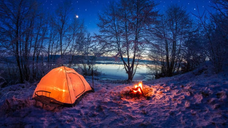 Battery Powered Tent Heaters Camping In The Cold