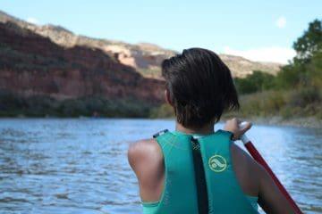 canoeing ruby horsethief canyon