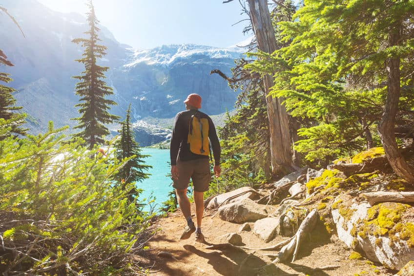 what are the types of hiking