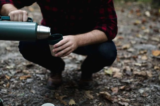 hot drinks for backpacking