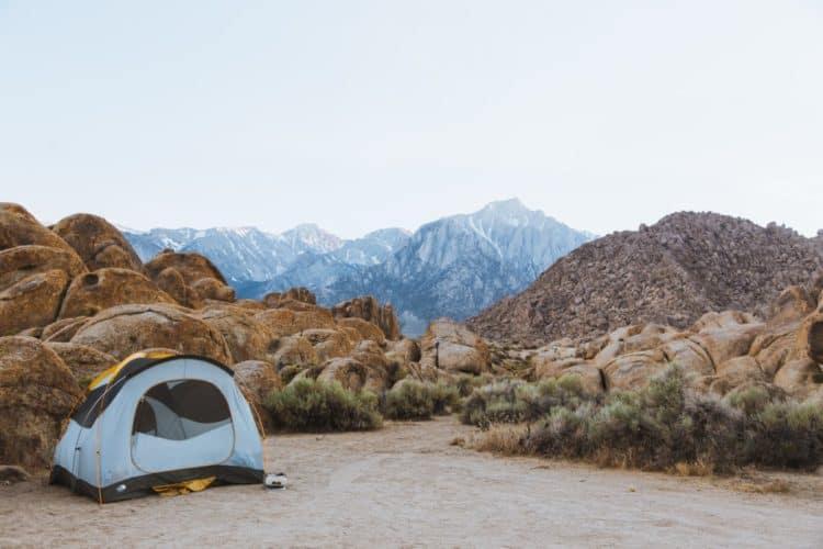 best camping in california