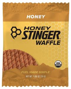 honey stinger high calorie bar for backpacking