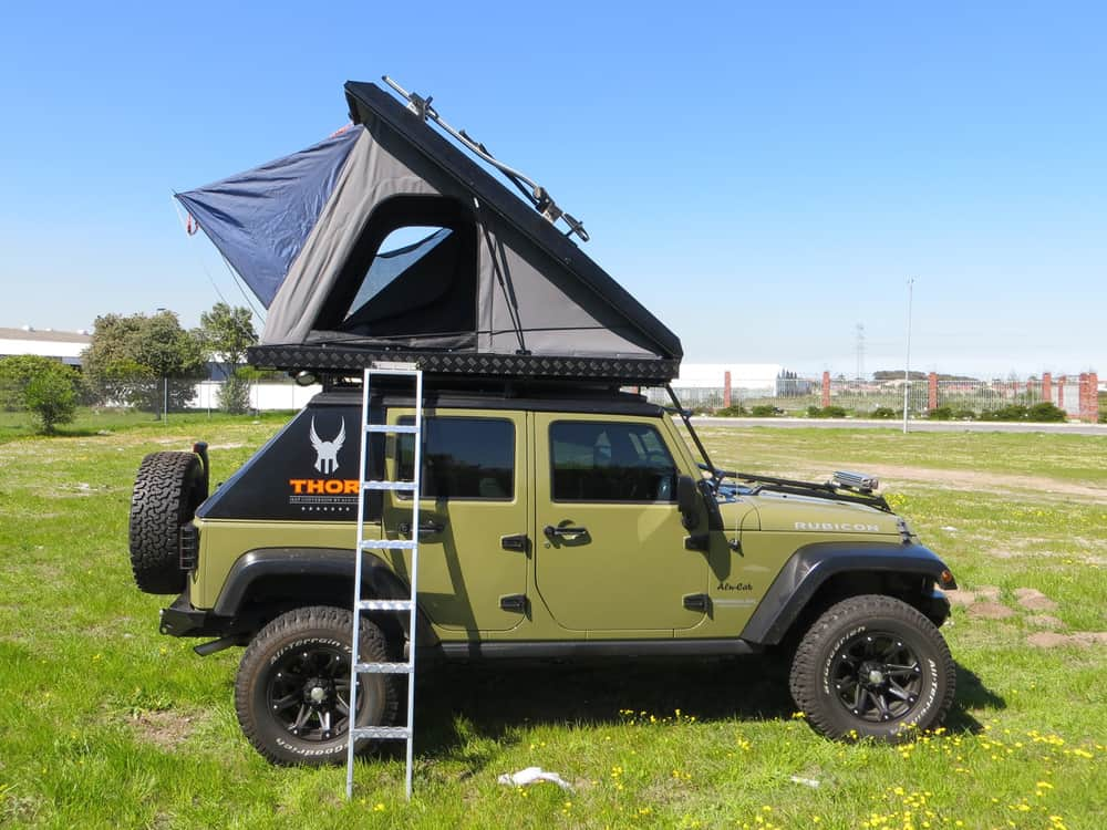 Best Hard Shell Roof Top Tents by alucab