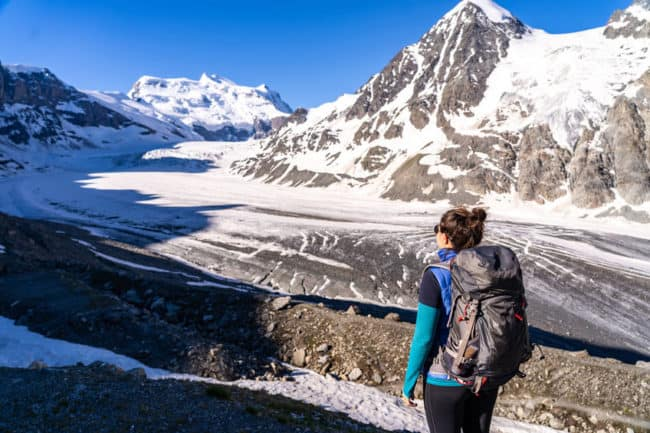 best hiking trails Europe haute route