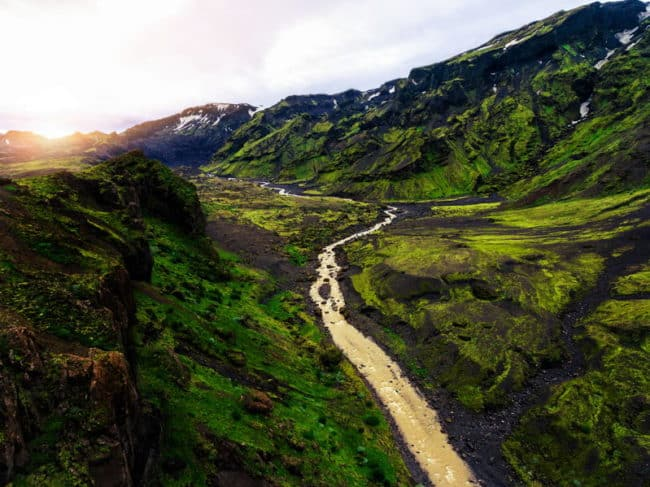 best hiking trails europe and iceland
