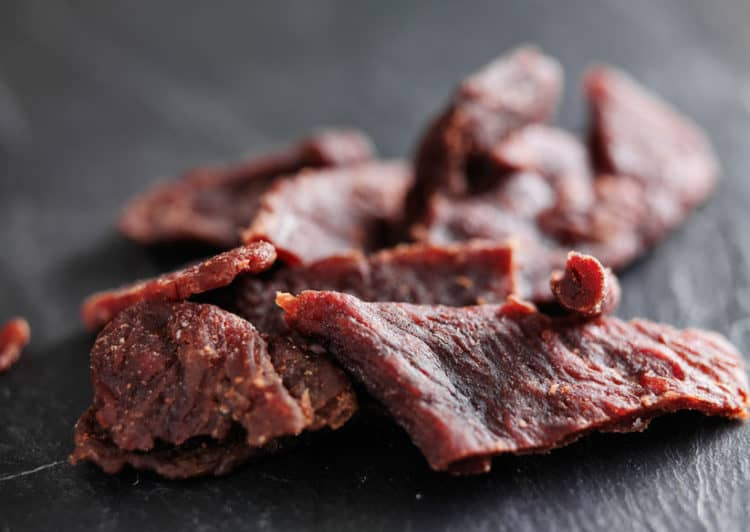 is beef jerky good for hiking