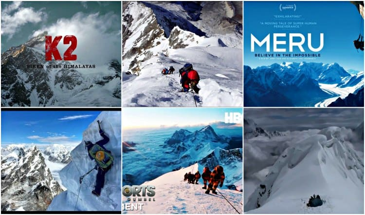mountain climbing documentaries stream