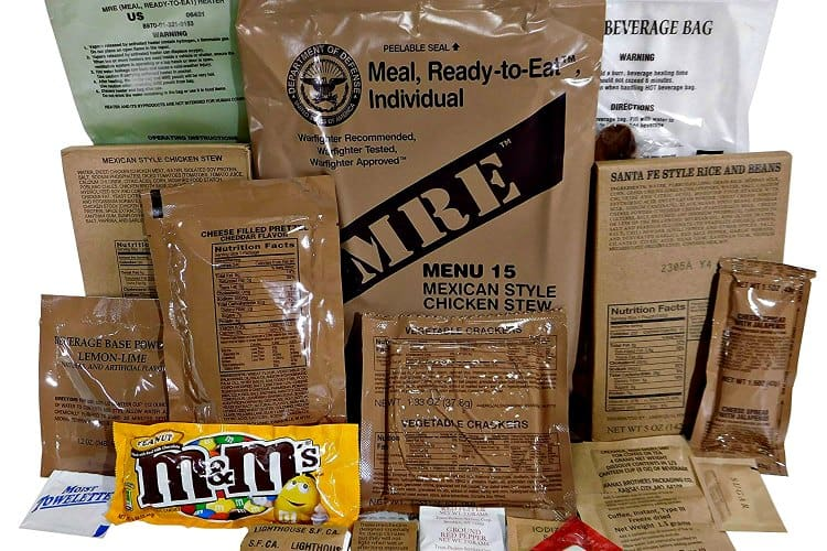 are mres good for backpacking