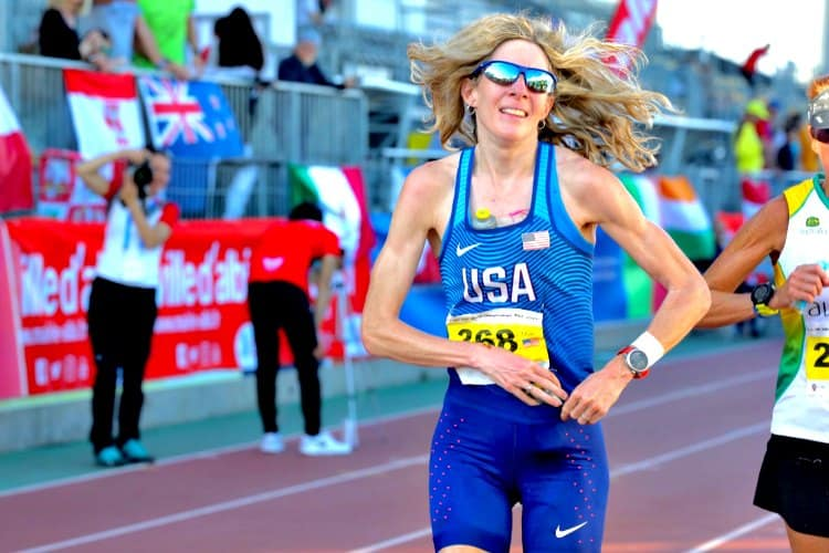 Camille Herron 24 Hour Record Training and Diet