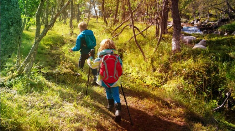 how can i make hiking more fun for kids