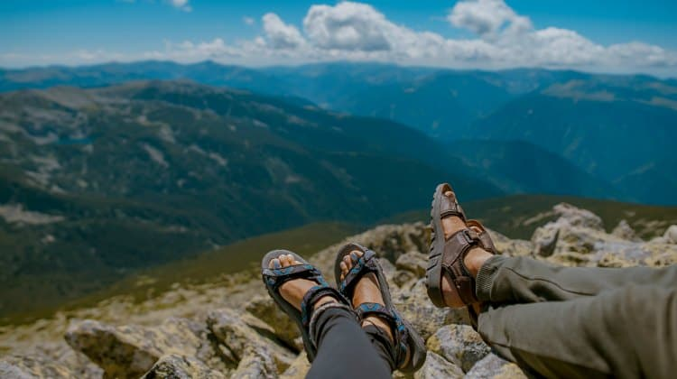 are sandals good for hiking