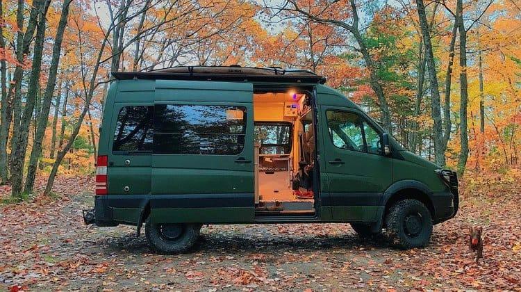 Sprinter Rv Conversion >> How Much Does A Sprinter Van Conversion Cost