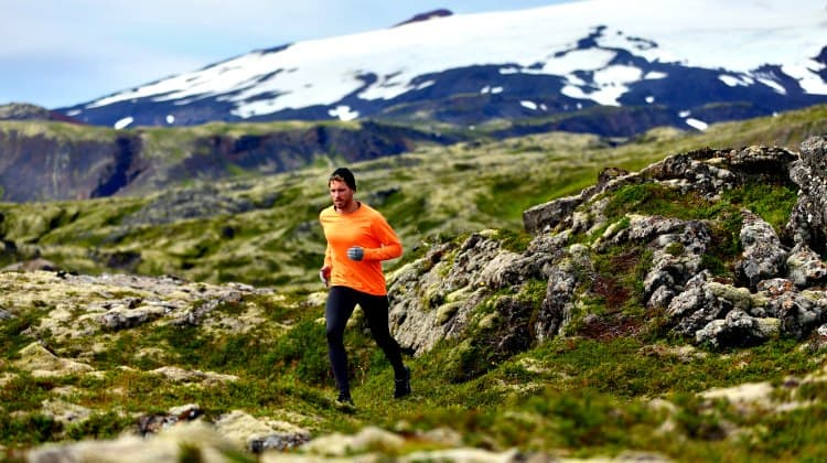 is running good for mountaineering