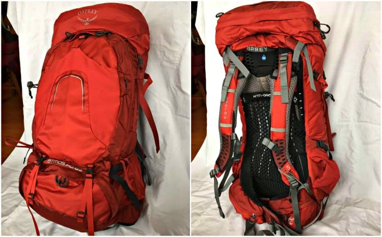 osprey atmos 65 ag backpack review