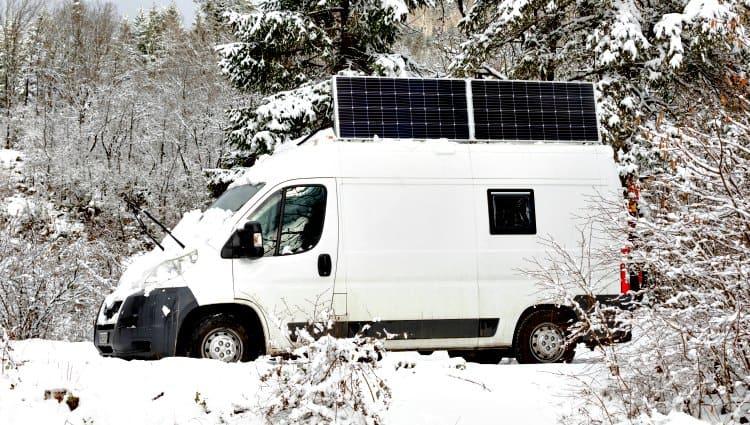 cow can i heat my van in the winter
