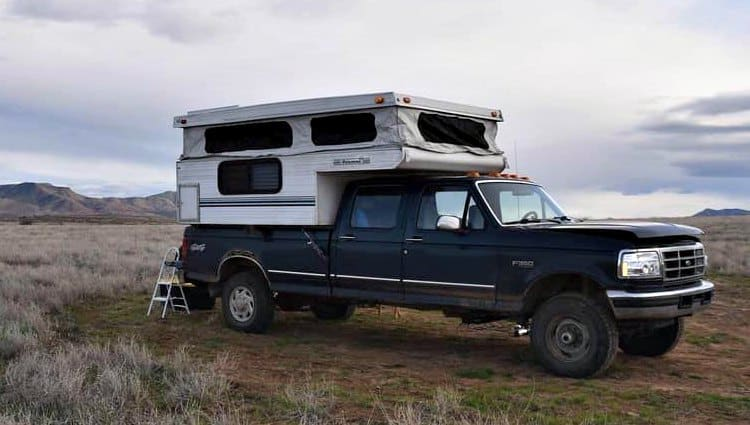 can you live full time in a truck camper