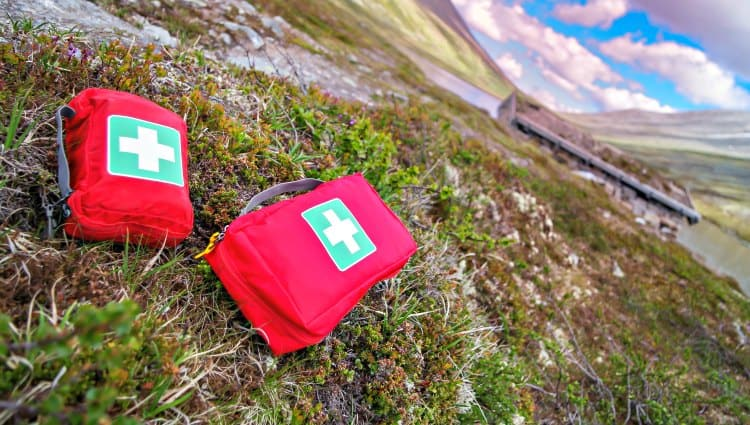 what should be in a first aid kit for camping