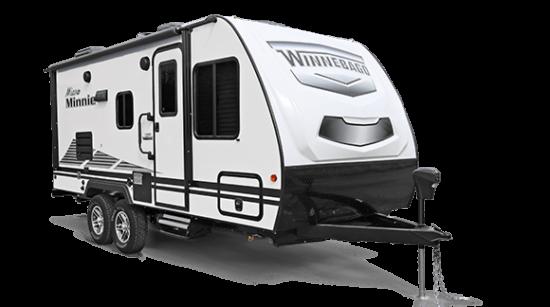 white and black trailer on white background