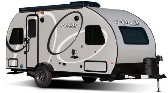grey trailer on white background