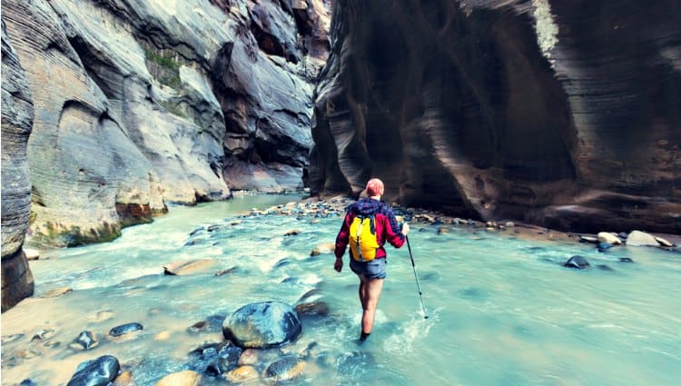 what shoes should i wear for canyoneering