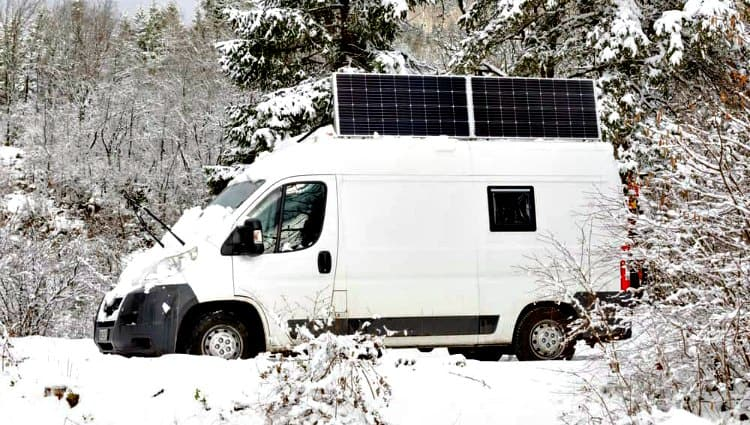 how much solar do i need for a van life