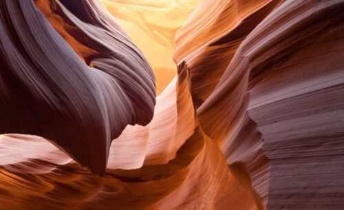 view of red slot canyon