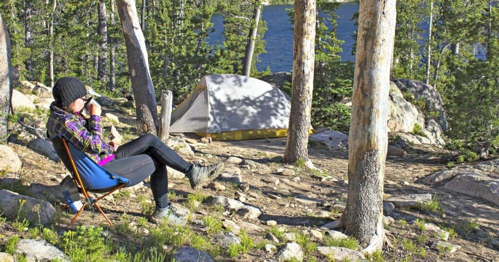 what is the lightest camping chair