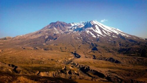 mount saint helens view