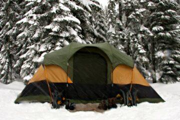 how to winterize a 3 season tent