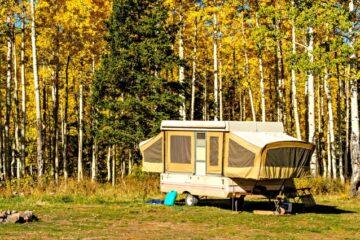 pop up campers under 1500 lbs
