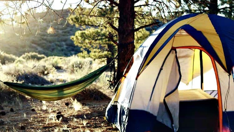 how do you camp on a budget