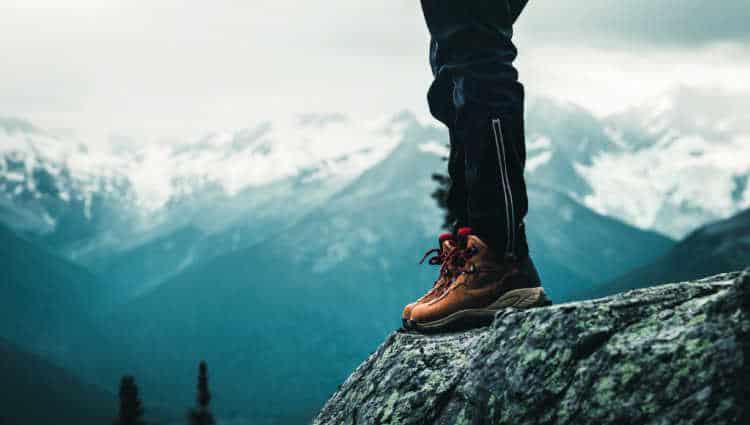 are hiking boots non slip