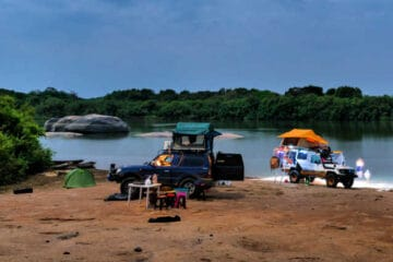 what is overlanding camping
