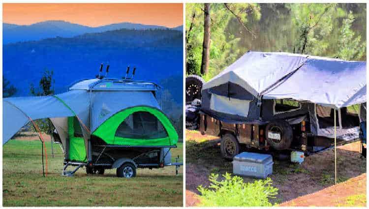 best pop up campers under 1000 pounds