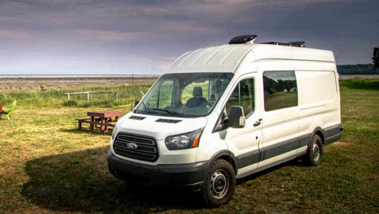 can you put a bathroom in a ford transit
