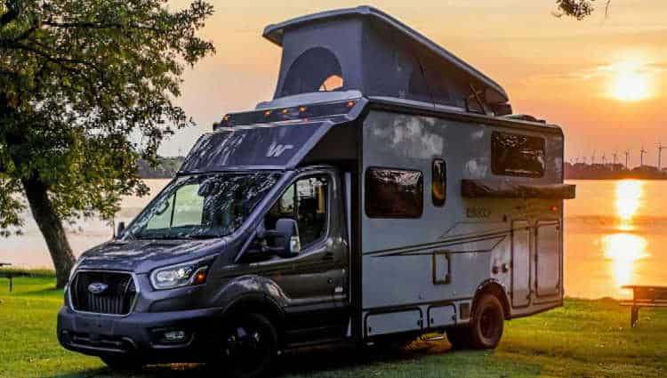 how much does a winnebago pop top cost